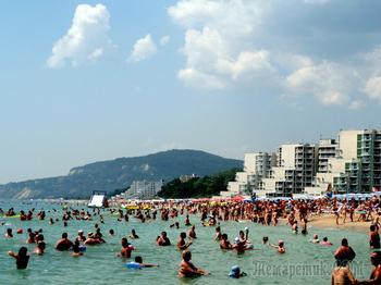 Болгарское побережье Черного моря 11. Албена -  самый экологичный крупный морской курорт Болгарии