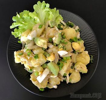 Картофельный салат с сумахом