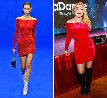 Фото наших знаменитостей, на которых наряды от-кутюр смотрятся совсем не так, как на моделях
