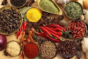 7 лучших специй в рационе питания