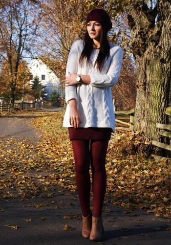 С чем носить свитер оверсайз этой осенью