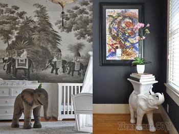 Слон по фен-шуй: значение символа и других животных