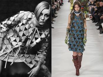 Доспехи для феминисток: Как дизайнер Пако Рабанн одел женщин в металлические платья