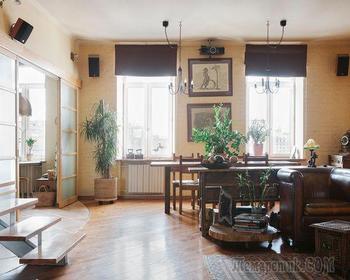 Самобытная квартира в Замоскваречье с историей