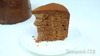 Шоколадный торт моя прага с вертикальными коржами