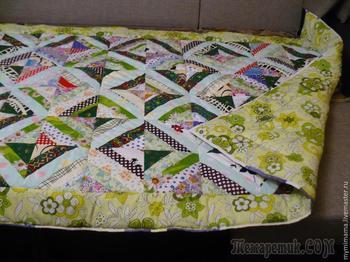 Шьем лоскутное одеяло