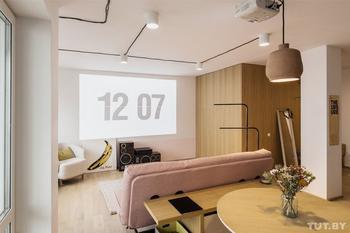 Минский архитектор показал ремонт в своей квартире-студии