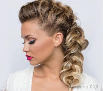 Прически на вьющиеся волосы: простые и эффектные варианты
