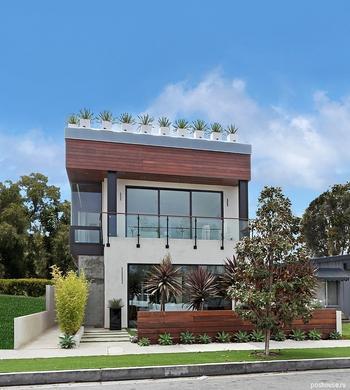 Дом в Калифорнии: шикарный дизайн с изюминкой