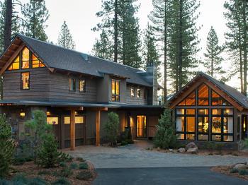 Загородный дом в горах. Калифорния