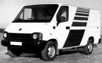 1.5-тонные фургоны из СССР: предшественники ГАЗели