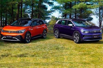 VW представил миру сразу два электрических кроссовера-близнеца
