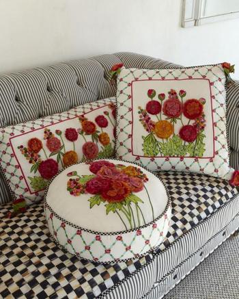 Декоративные подушки своими руками: фото идеи