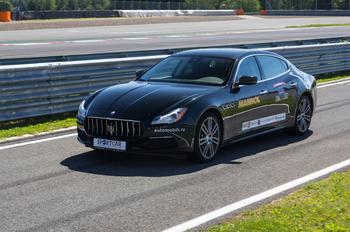 Четырежды четыре: трек-тест Maserati Quattroporte S Q4