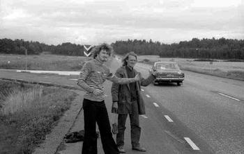 Про советских автостопщиков