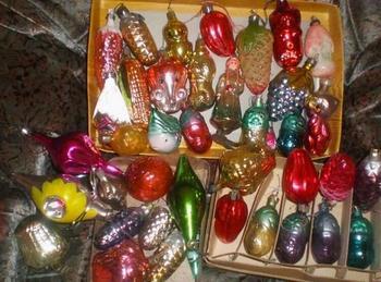 Старые новогодние игрушки – воспоминания в кусочках стекла