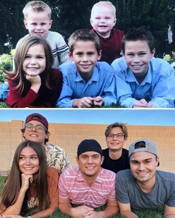 Старые семейные фотографии на новый лад
