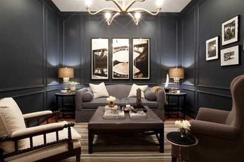 Элегантные апартаменты холостяка в Балтиморе