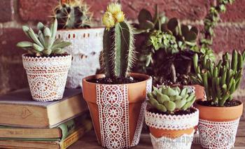 Весенний DIY: 28 идей как украсить глиняное кашпо