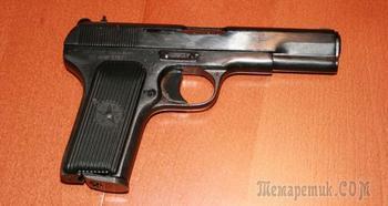 Коллекционный пневматический пистолет МР-656 ТТ