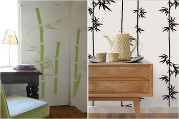 Бамбуковый дизайн в интерьере