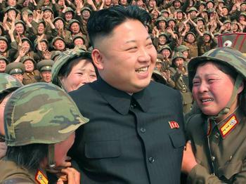 Телевидение КНДР: Северокорейцы плачут при виде похудевшего Ким Чен Ына