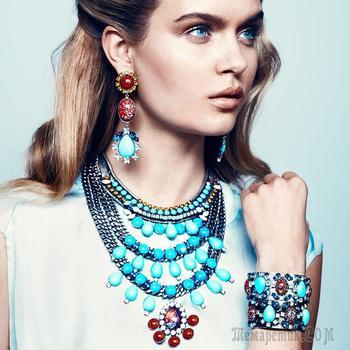 Модная бижутерия 2017 года: образы с актуальными украшениями