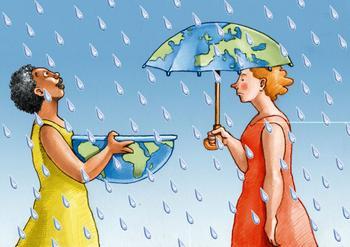 Сюрреалистические иллюстрации Кристины Бернарццани о нашем обществе