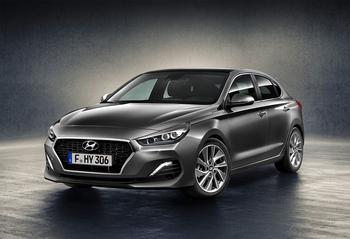 Hyundai i30 Fastback – Хундай ай 30 с кузовом купе