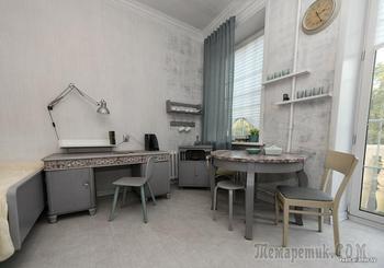 Минчанка превратила коммуналку в необычную квартиру с комнатой-трансформером