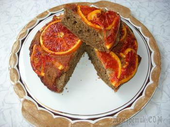 Кофейно-апельсиновый пирог