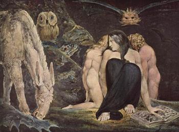 Мир Уильяма Блейка,английского живописца ,поэта и гравёра