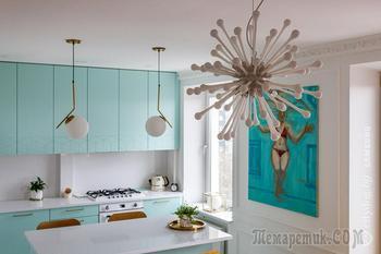 Смотрите, какой необычный интерьер в стиле 60-х сделала минчанка в своей квартире
