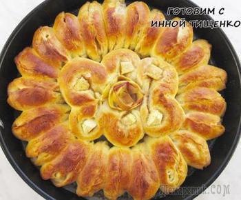 Красивый и вкусный яблочный пирог