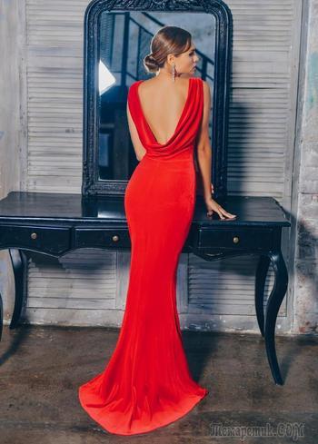 Как носить платья с открытой спиной: модные варианты