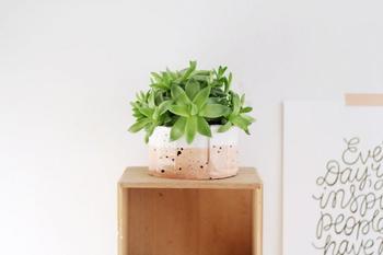 Как сделать декоративный горшок для цветов из глины