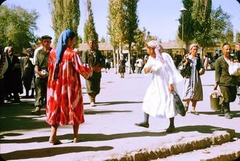 Повседневная жизнь советского Узбекистана в 1956 году