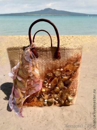"Пляжная сумка ""Море зовет"""