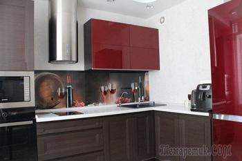 Моя кухня: винный цвет для мужчины