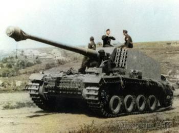 Штурер Эмиль - 128 мм экспериментальная немецкая САУ