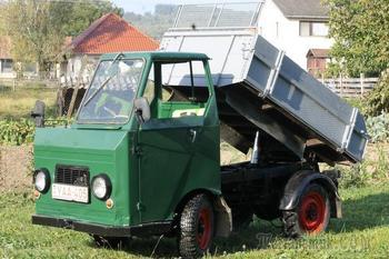 История многоцелевого грузовика Multicar