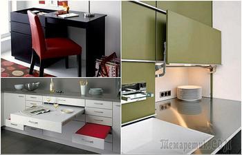 Эргономичная мебель, с которой можно чувствовать себя комфортно даже в маленькой квартире