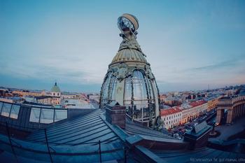 Крыши Петербурга: Дом Зингера