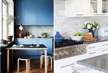 25 примеров стильных кухонных фартуков, которые преобразят интерьер
