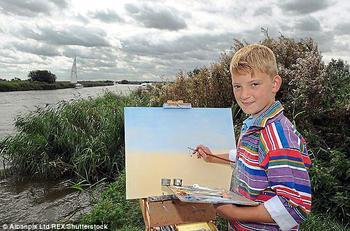 О 14-летнем художнике, заработавшем 150 миллионов рублей, сняли фильм