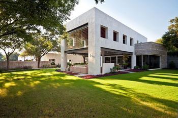 Реконструкция роскошной резиденции в Мексике