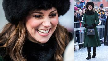 Как в холода не чувствовать себя неуклюжим пингвином: Секреты зимнего гардероба Кейт Миддлтон
