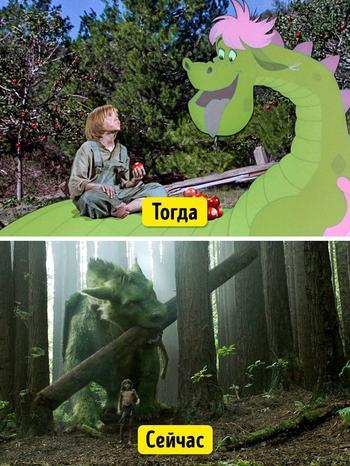Современные спецэффекты преображают фильмы до неузнаваемости, и вот 16 ярких примеров