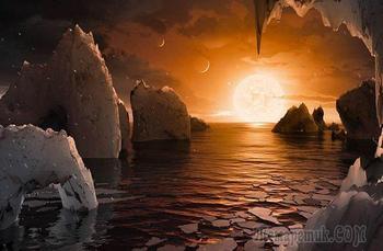 Причины радоваться обнаружению планет в системе TRAPPIST-1