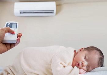Может ли ребенок простудиться из-за кондиционера?